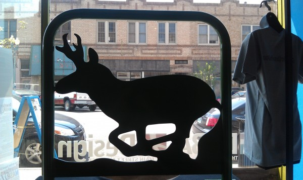 Pronghorn bike rack